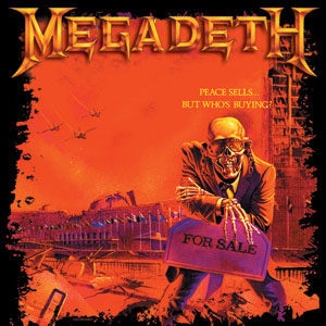 Megadeth- Peace Sells Square pin (pinX249)