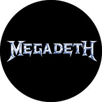 Megadeth- Silver Logo pin (pinX253)