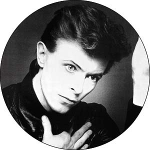 David Bowie- Heroes pin (pinX171)
