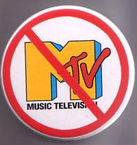 """Anti MTV JUMBO 2 1/2"""" pin (pin-B18)"""