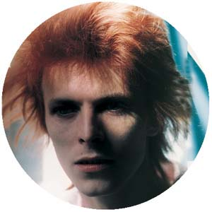 David Bowie- Color Face pin (pinX170)