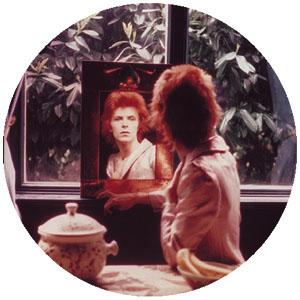 David Bowie- Mirror pin (pinX173)