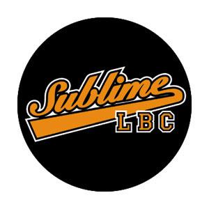 Sublime- LBC (Black & Orange) pin (pinX267)