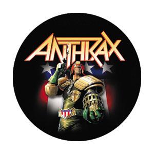 Anthrax- Judge Dredd pin (pinX136)