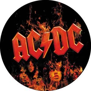 AC/DC- Flames pin (pinX122)