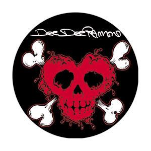 Dee Dee Ramone- Poison Heart pin (pinX200)