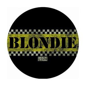 Blondie- 1974 pin (pinX147)