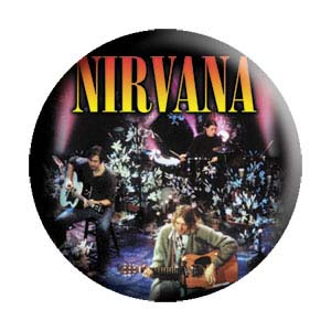 Nirvana- Acoustic pin (pinX279)