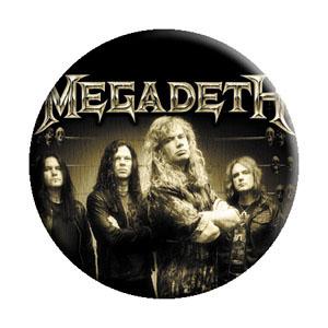 Megadeth- Band Pic pin (pinX244)