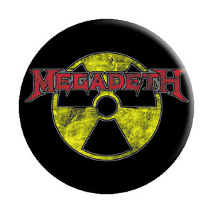 Megadeth- Radioactive pin (pinX250)