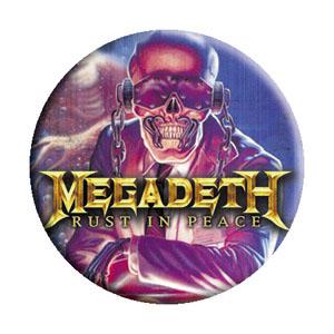 Megadeth- Rust In Peace pin (pinX251)