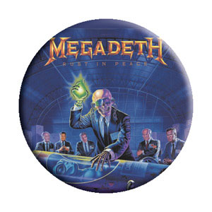 Megadeth- Alien pin (pinX242)
