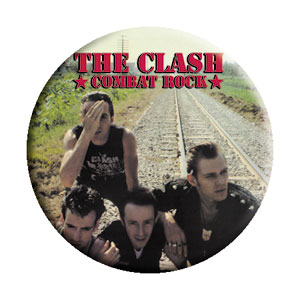 Clash- Combat Rock pin (pinX158)