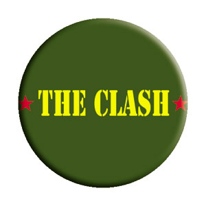 Clash- Army Logo pin (pinX157)