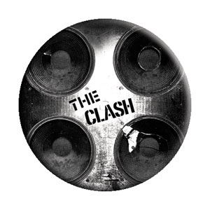 Clash- Speakers pin (pinX163)