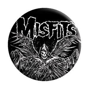 Misfits- Descending Angel pin (pinX263)