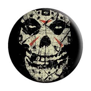 Misfits- Crystal Lake Skull pin (pinX262)