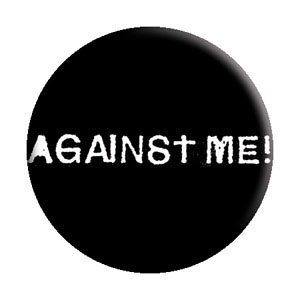 Against Me!- Logo pin (pinX132)