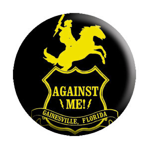 Against Me!- Gainesville pin (pinX131)