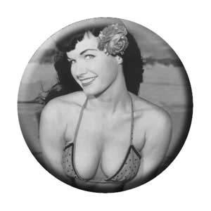 Bettie Page- Pose pin (pinX140)