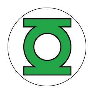 DC Comics- Green Lantern Symbol pin (pinX183)