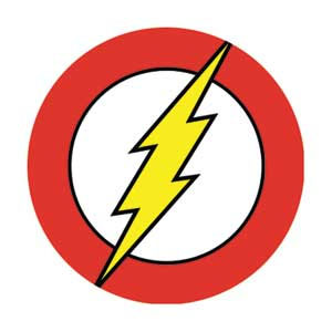 DC Comics- Flash Symbol pin (pinX182)
