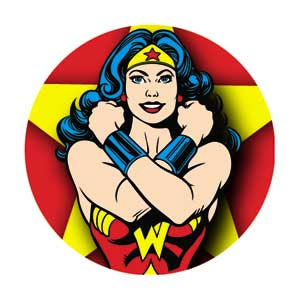 DC Comics- Wonder Woman pin (pinX190)