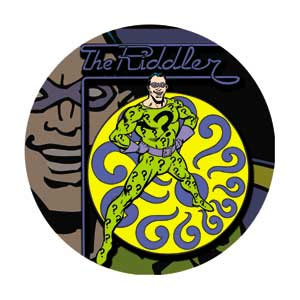 DC Comics- The Riddler pin (pinX189)