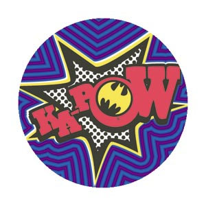 DC Comics- Batman Ka-Pow! pin (pinX177)
