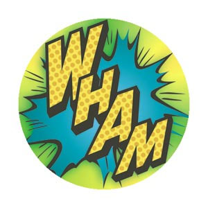 DC Comics- Batman Wham pin (pinX179)