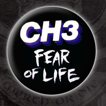Channel 3- Fear Of Life pin (pinX20)
