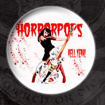Horrorpops- Hell Yeah pin (pinX36)