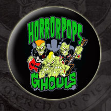 Horrorpops- Ghouls pin (pinX97) (Sale price!)