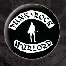 Joe Strummer- Punk Rock Warlord pin (pinX41)