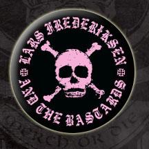 Lars Frederiksen & The Bastards- Skull pin (pinX49)