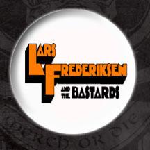 Lars Frederiksen & The Bastards- Clockwork Logo pin (pinX48)
