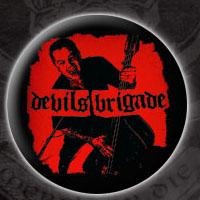Devil's Brigade- Album Cover pin (pinX27)