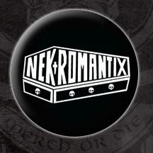 Nekromantix- Coffin Logo pin (pinX56)