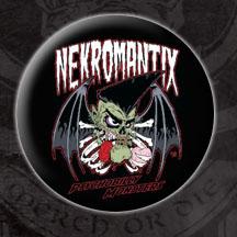 Nekromantix- Psychobilly Monsters pin (pinX57)