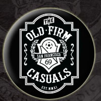 Old Firm Casuals- Crest pin (pinX60)