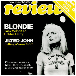 Blondie- Magazine Cover square pin (pinX146)