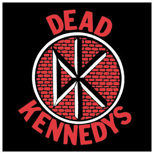 Dead Kennedys- DK Logo With Bricks square pin (pinX194)