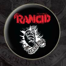 Rancid- Let's Go pin (pinX76)