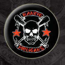 Rancid- Hooligans pin (pinX75)