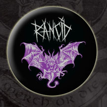 Rancid- Bat pin (pinX69)