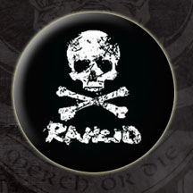 Rancid- D-Skull pin (pinX71)