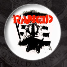 Rancid- And Out Come The Wolves pin (pinX68)