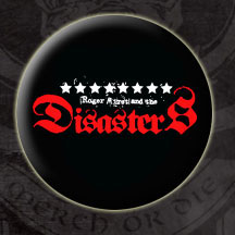 Roger Miret & The Disasters- Logo pin (pinX109) (Sale price!)