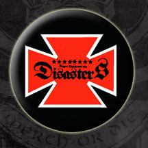 Roger Miret & The Disasters- Iron Cross pin (pinX108) (Sale price!)