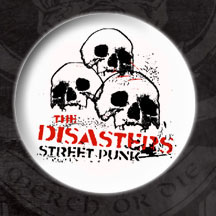 Roger Miret & The Disasters- Street Punks pin (pinX110) (Sale price!)
